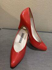 Vintage Evan Picone Red Heels Size 8M 1980's