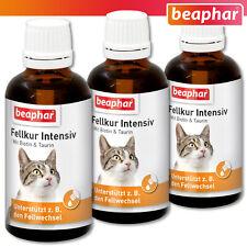Beaphar 3 x 50 ml Fellkur Intensiv Katze