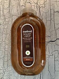 Method Squirt + Mop Wood Floor Cleaner Almond Scent 25 oz Squirt Bottle