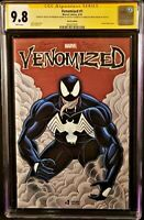MARVEL Comics VENOMIZED #1 CGC SS 9.8 Original Art Sketch SPIDER-MAN CARNAGE MJ