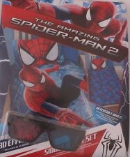 Marvel The Ultimate Spider-Man Boys 2 piece Bed Set Duvet Cover, Pillowcase NWT