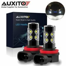 2X AUXITO 100W CREE LED H11 H8 6000K Fog Driving Light Bulb Front Super Bright