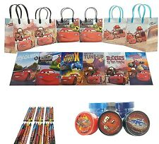 "Disney Cars 3 S 6.5"" Party Goody Gift Bag Party Favor Stationery (54pc)"