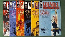 Grendel Tales The Devil May Care #1-6 Complete Series Set NM/MT High Grade Lot