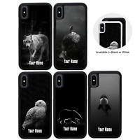ARCTIC ANIMALS | Personalised Rubber Case for iPhone 5s SE 6s 7 8 PLUS XR XS Max
