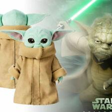 25cm Baby Yoda Weckt Master Force Plueschtier Stuffed Doll The Mandalorian NEW