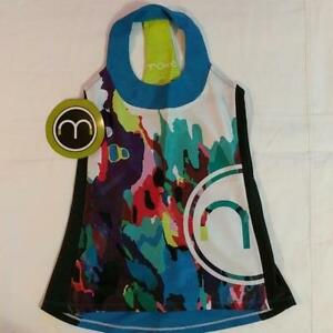 Moxie Cycling Young Miss Colorblock Athletic Jersey Kids T-back NWT