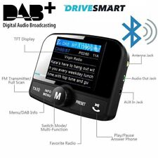 Drivesmart Car DAB Digital Radio Bluetooth FM Transmitter Adaptor Adapter BT