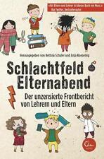 Schlachtfeld Elternabend von Anja Koeseling und Bettina Schuler (2014, Kunststof