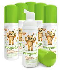 Babyganics Foaming Hand Sanitizer, Mandarin, On-The-Go, 50 ml PACK OF 4