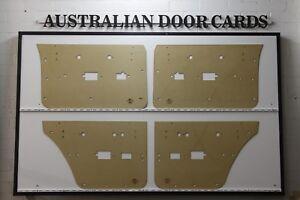Ford ZH Fairlane Electric Window Door Cards. Blank Trim Panels. Sedan Wagon.