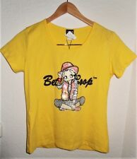 Dolce & Gabbana Ittierre Sequin & Beads Betty Boop T-shirt Made In Italy New/Tag