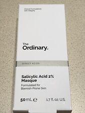 The Ordinary* Salicylic Acid 2% Masque 50ml Formulated for Blemish Prone Skine