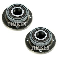 Pair Set of 2 Front Timken Wheel Bearing and Hub Kit for BMW E30 3-Series RWD