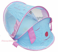 Light Blue Pink Rabbit Music Song Pop Up Baby Play Mosquito Tent In Outdoor