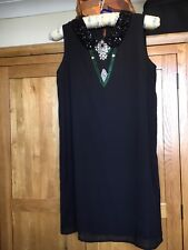 M&S Limited Collection - Black dress size 12 - embellished with stones - BNWT
