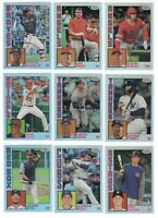 2019 Topps Chrome 1984 REFRACTOR Complete 25 card set Ohtani Trout Judge Acuna!!
