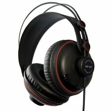 Superlux HD662 Professional Monitoring Headphones, Black