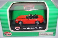 "Model Power:  1:87 Scale ""2003 Dodge Viper RT/10"" Item No:19281"