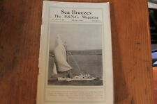 Sea Breezes Magazine: February 1936: Maritime Yarns /info: Collectable Nautical