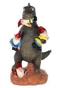 Birendy Figur, Dinosaurier, Zwerg, Gartenzwerg Gartenwichtel Deko Zwerg Wichtel