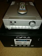 Cyrus 8 Integrated Amplifier Silver With Remote