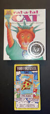 Food Fortunes Card Deck New And Rat A Tat Cat Card Game (pre Owned) Lot Of Fun
