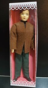Vintage Boda Henning Original Erna Meyer Miniature 1:12 Male Stockinette Doll