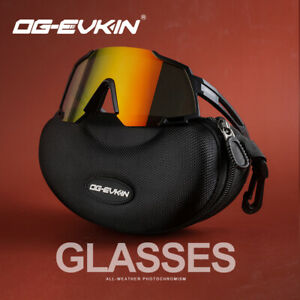 OG-EVKIN Polarized Bicycle Bike Cycling Sunglasses Goggles Eyewear UV Glasses