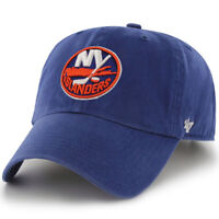 New York Islanders 47 Brand Hat Clean Up Adjustable Cap