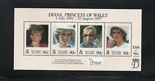 Pitcairn Islands 1999 Diana Commem Sheet. MINT/MNH One postage for multi buys.