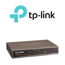 TP-LINK 8-Port Power over Ethernet (PoE) Switch 10/100Mbps Desktop - TL-SF1008P