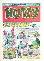NUTTY - 30th MAY 1981 (24 - 30 May) RARE 40th BIRTHDAY GIFT !! FINE..dandy beano