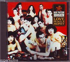 DIE TOTEN HOSEN - Love, Piece & Money 14 Track CD JAPAN Import