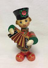Russian Matryoshka - Handmade Linden Wood Doll - Boy Vanya Medium #5