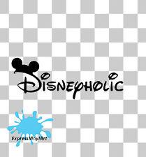 Disneyholic Disney auto furgone bici portatile Paraurti Finestra Divertenti Novità Adesivo Decalcomania