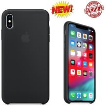 Genuine / OEM Apple Slim Leather Case For iPhone XS Black MRWM2ZM/A