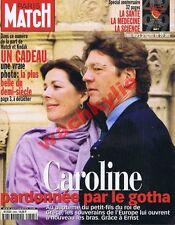 Paris Match n°2605 du 29/04/1999 Caroline Monaco Kosovo Pancol Médecine Santé