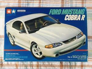 Tamiya 1/24 Ford Mustang Cobra R Out of Print First Edition Plastic Model