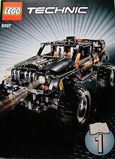 LEGOS  -  Set of 3 INSTRUCTION BOOKS  for  Lego Set  8297 Technic Off Roader