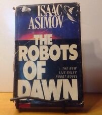 ISAAC ASIMOV - THE ROBOTS OF DAWN - HC 1983- VINTAGE SCIENCE FICTION