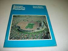 Notre Dame vs. Penn State Program Beaver Std.11-21-1981