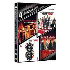 OCEAN'S COLLECT - 4 GRANDI FILM 4 DVD COFANETTO BOX  SIGILLATO