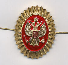 RUSSIAN IMPERIAL BADGE INSIGNIA HAT PIN STATE EMBLEM DOUBLE-HEADED EAGLE COCKADE