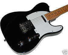 New York Pro Black NY-9401 Telecaster Electric Guitar NEW!
