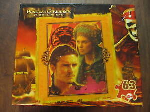 63 piece Puzzle: Pirates Caribbean Will Turner and Elizabeth, Brand New & Sealed