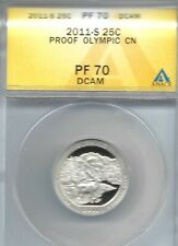 2011-S Proof Olympic National Park ANACS Authenticated PF 70