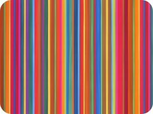 Kitchen Stripes Glass Worktop Saver Kitchen Board - Large - 50 x 40cm