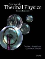 Concepts in Thermal Physics by Blundell, Stephen J. (University of Oxford, UK)|B