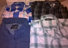 BUNDLE OF MEN'S SHIRTS SIZE M BON MARCHE', CEDARWOOD STATE, HOLLISTER, URBAN